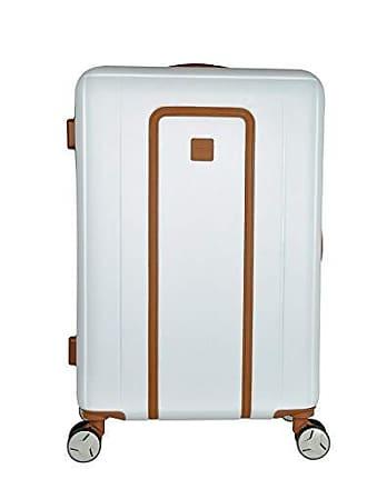 Yin's Mala de Viagem Grande ABS c/Carrinho 360º Branca YS2036B-G
