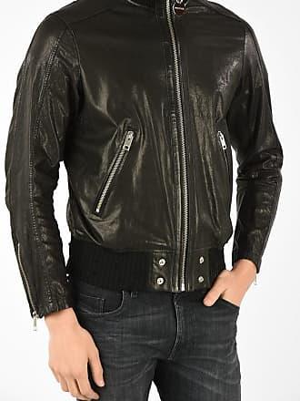 Diesel Leather L-LYSSEN Jacket Größe Xxl