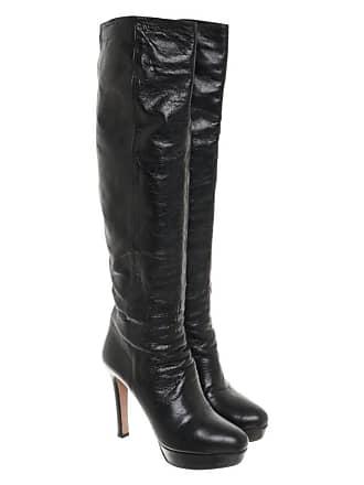 64ba60991e5e0 Prada gebraucht - Stiefel aus Leder in Schwarz - EU 40 - Damen - Leder