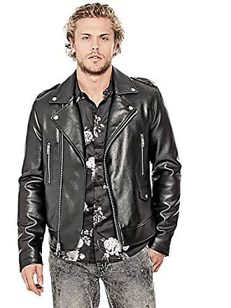 6ddec719 Men's Guess® Faux Leather Jackets − Shop now at USD $46.59+ | Stylight