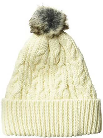 4a8bc417 PJ Salvage Womens Cable Collection Beanie, Natural 1SZ