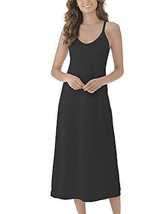 Vanity Fair Womens Tailored Spinslip 10158, Midnight Black, Size 34, 32 Inch