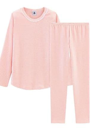 3fe58aeda65cc Petit Bateau Pyjama petite fille en côte