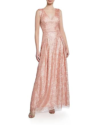 Karl Lagerfeld Embroidered Mesh gown