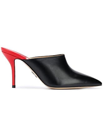 PAUL ANDREW pointed mules - Preto