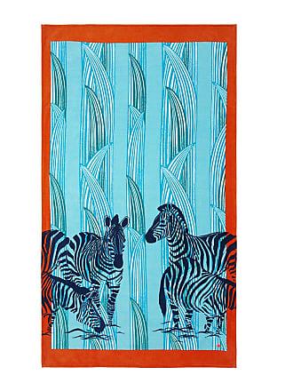 Yves Delorme Zebra Beach Towel