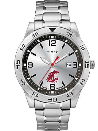 Timex Timex Watch Mens Citation Washington State Cougars Silver-Tone/silver-Tone/silver-Tone Item Twzuwstmlyz