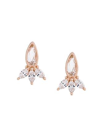 V JEWELLERY Pam stud earrings - Metálico