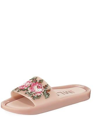 Melissa Beach Slide Flower Jelly Sandals