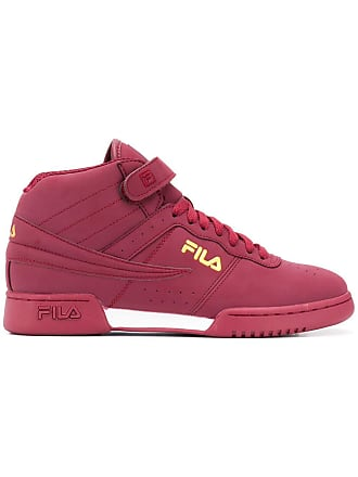 Fila F-13 hi-top sneakers - Red