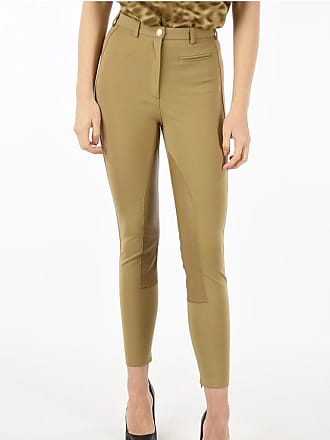 Burberry Pants with leather details Größe 4