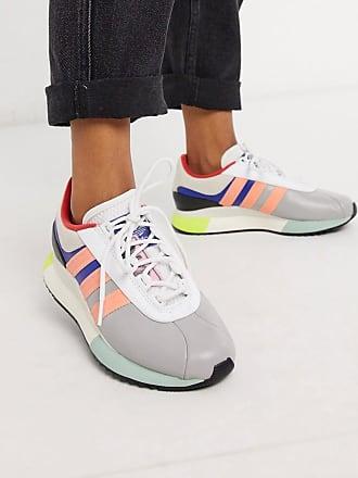 adidas Originals SL Andridge sneaker in gray and pink