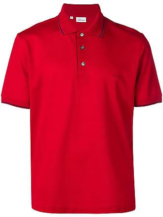 Brioni Camisa polo clássica - Vermelho