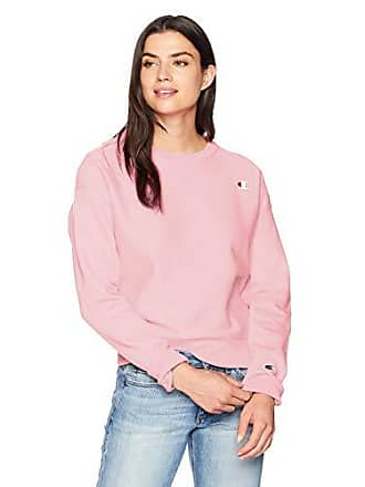 Champion Womens Reverse Weave Crew, Pink Candy, XX-Large