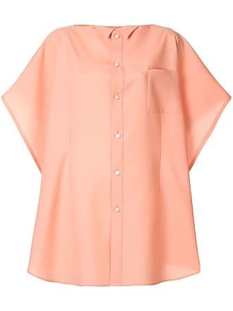 Facetasm Camisa oversized longa - Rosa