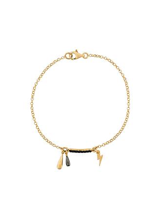 Eye M By Ileana Makri Bracelete Thunder Storm com prata banhada a ouro - Metálico
