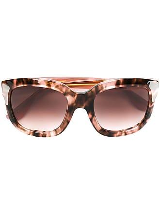 Emmanuelle Khanh oversized frame sunglasses - Marrom