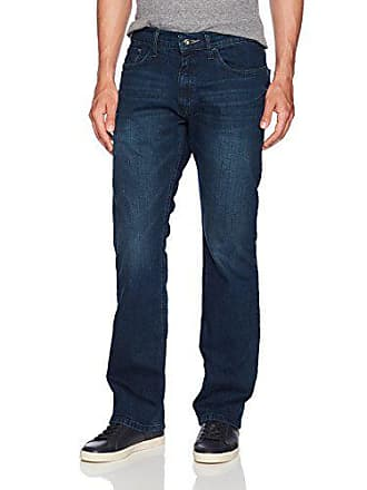 b89274e48b4 Nautica Mens 5 Pocket Relaxed Fit Stretch Jean, Pure Deep Bay Wash, 32W 32L