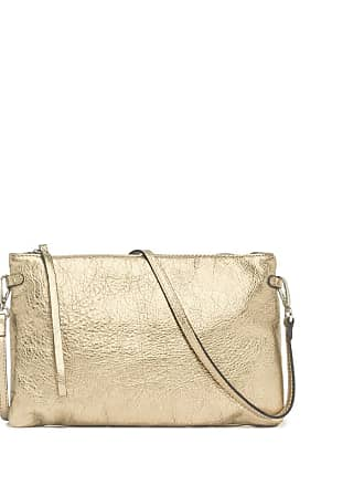 Gianni Chiarini hermy large platinum clutch bag