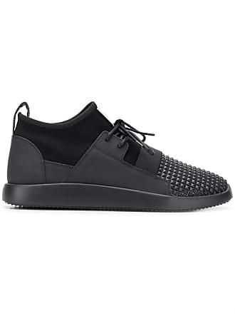 Giuseppe Zanotti scuba stud sneakers - Black