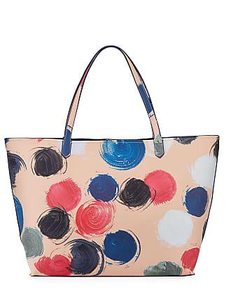 Neiman Marcus Faux-Saffiano Large Tote Bag