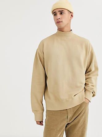 Weekday Dennis - Sweatshirt in Kamelbraun