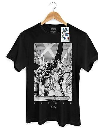 DC Comics Camiseta Batman e Robin Tracing