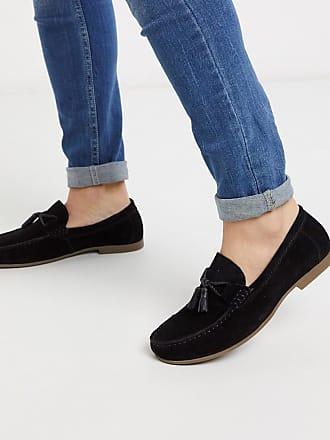 Topman tassel loafer in black