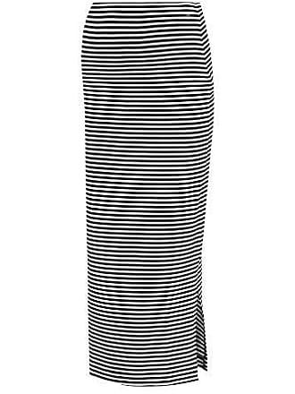 6121cd3c9a3ae0 Love2Wait Maxiskirt Damen Umstands Rock Langer Rock (XL (42-44), gestreift