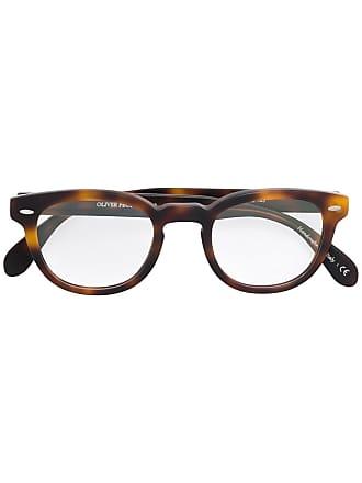 Oliver Peoples Armação de óculos Sheldrake - Marrom