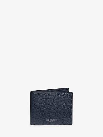 ec77202b9d82 Michael Kors Mens Harrison Leather Slim Billfold Wallet
