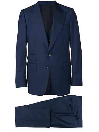 Tom Ford three-piece formal suit - Blue