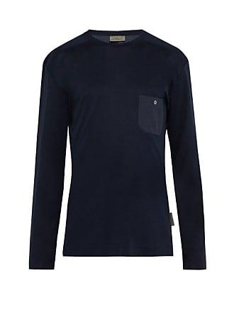 Zimmerli Jersey Lounge Shirt - Mens - Navy
