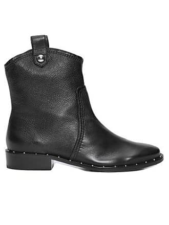 Schutz Bota Burned Leather Schutz - Preto