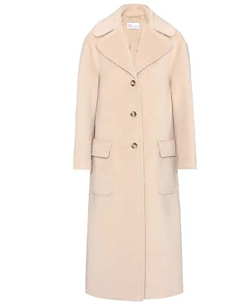 Red Valentino Wool and mohair-blend coat