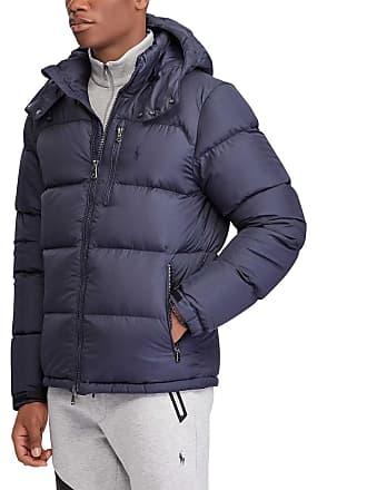 Polo Ralph Lauren Doudoune à capuche Bleu Polo Ralph Lauren 7f6486c4658a