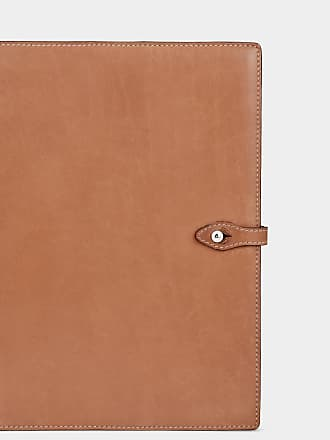 Anya Hindmarch Bespoke A5 Journal Butter Leather in Tan