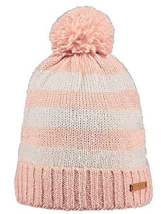 3c890cc120 Barts Meuse Beanie Chapeau, Multicolore (Bicolore Rosa e Bianco), UNI Femme