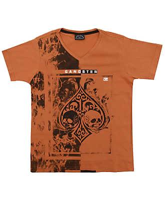 Gangster Camiseta Gangster Menino Outras Caramelo