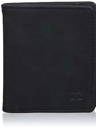 Billabong Billabong Mens Gaviotas Pu Wallet, Black, One Size