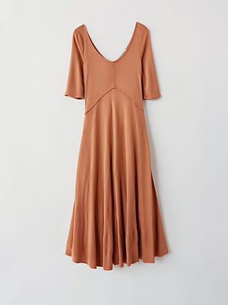 Acne Studios FN-WN-DRES000163 Rusty peach Jersey dress