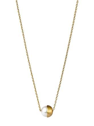 Shihara Colar de ouro 18k - Metálico