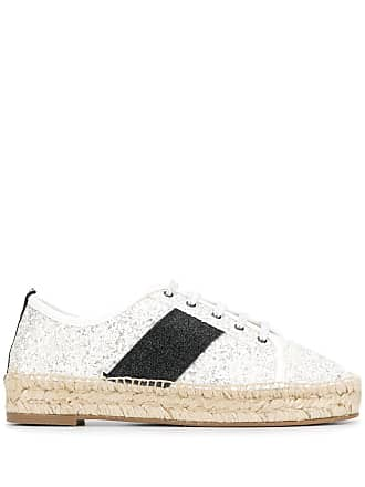 Kendall + Kylie Jury lace-up espadrilles - White