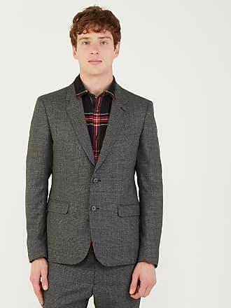 The Kooples Veste de costume en laine print Prince De Galles slim fit Gris  The Kooples abb891f696a