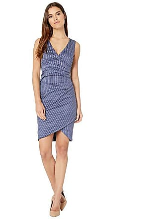 a59472643f5 Nicole Miller Stefanie Dress (Denim Blue) Womens Dress