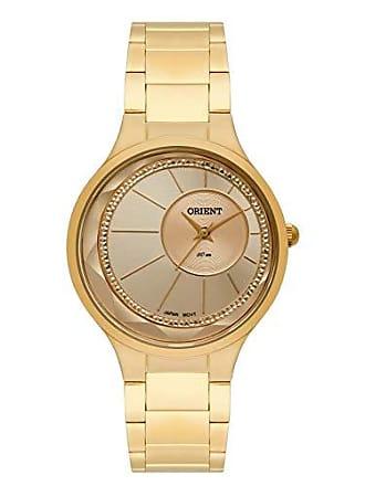 Orient Relógio Feminino Orient Analógico FGSS0116C1KX - Dourado
