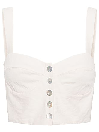 Mixed TOP CROPPED ROMANCE - OFF WHITE