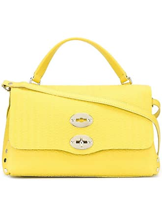 Zanellato clasp closure tote bag - Yellow