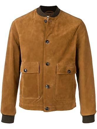 Ymc You Must Create textured bomber jacket - Brown