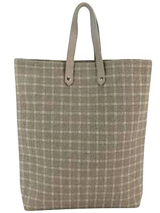 491fbf0008c9 Hermès Ahmedabad Quilted 222775 Gray Canvas Tote